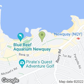 Map of PETER CRANE in Newquay, cornwall