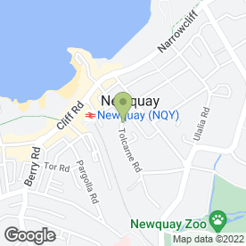 Map of Platinum Security Services in Newquay, cornwall