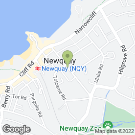 Map of Mike Field Carpentry in Newquay, cornwall