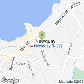 Map of Auto Resprays in Newquay, cornwall