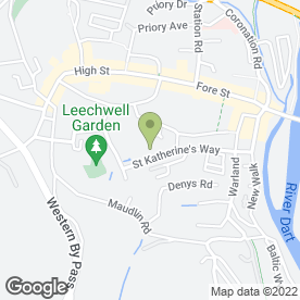 Map of And Some Cabs in Totnes, Devon, devon