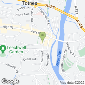 Map of OLSEN CAFE in Totnes, devon