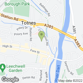 Map of Wm Morrison Supermarkets plc in Totnes, devon