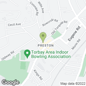 Map of Preston Hardware in Paignton, devon