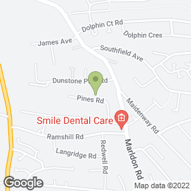 Map of Adams Roofing in Paignton, devon