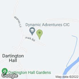 Map of Park Primary School in Dartington, Totnes, devon