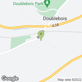 Map of Doublebois Tyre Services in Doublebois, Liskeard, cornwall