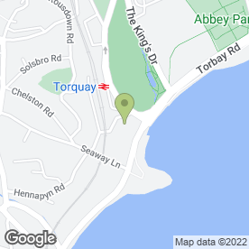 Map of E-Beauty (Spa) in Torquay, devon