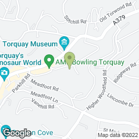 Map of Colman Relocation Services in Torquay, devon