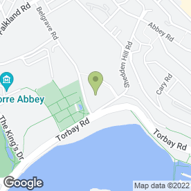 Map of Premier Inn in Torquay, devon