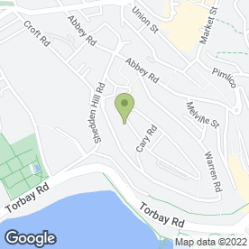 Map of ROCKWATER LANDSCAPING SERVICES in Torquay, devon