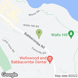Map of Agincare Cuisine in Torquay, devon