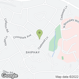 Map of 1St Impressions in Shiphay, Torquay, devon
