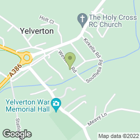 Map of Yelverton Surgery in Yelverton, devon