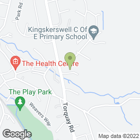 Map of Buddies in Kingskerswell, Newton Abbot, devon