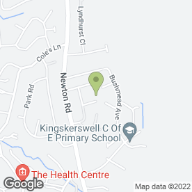 Map of zoeclarkcakes.com in Kingskerswell, Newton Abbot, devon