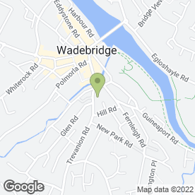 Map of EYRES in Wadebridge, cornwall