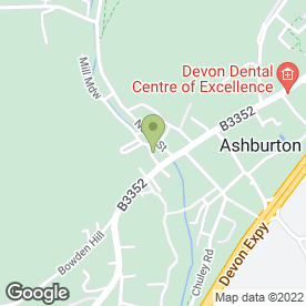 Map of Arron Removals in Ashburton, Newton Abbot, devon