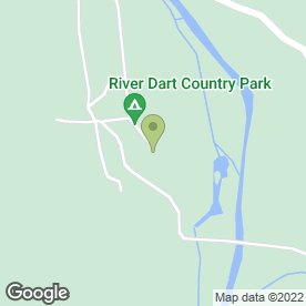 Map of Holne Park House in Ashburton, Newton Abbot, devon
