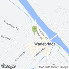 Map of P & H Motor Repairs in Wadebridge, cornwall