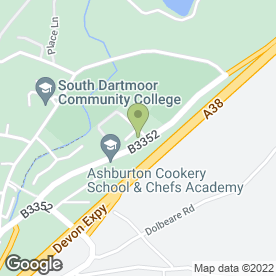 Map of Bump to 3 Ltd in Ashburton, Newton Abbot, devon