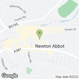 Map of S & R Property Solutions in Newton Abbot, devon