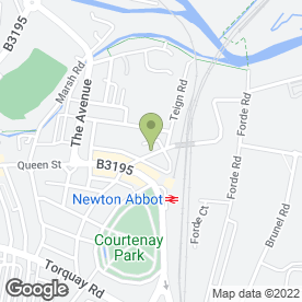Map of ABBOT COACH TRAVEL in Newton Abbot, devon