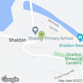 Map of Amaranth Images in Shaldon, Teignmouth, devon