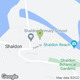 Map of Riverside Surgery in Shaldon, Teignmouth, devon