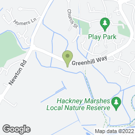 Map of Newton Abbot Mot in Kingsteignton, Newton Abbot, devon