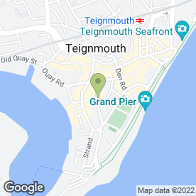 Map of Devonia House in Teignmouth, devon