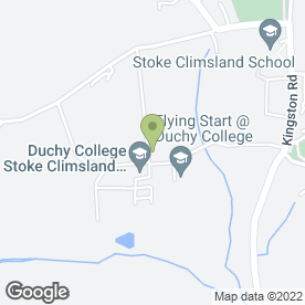 Map of Duchy College in Stoke Climsland, Callington, cornwall