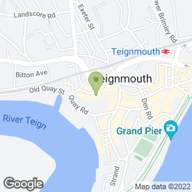 Map of INNER IMAGE in Teignmouth, devon