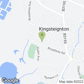 Map of Easy Storage in Kingsteignton, Newton Abbot, devon