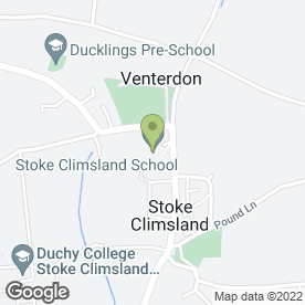 Map of Stoke Climsland School in Stoke Climsland, Callington, cornwall