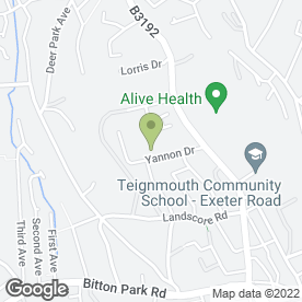 Map of APH Heating in Teignmouth, devon