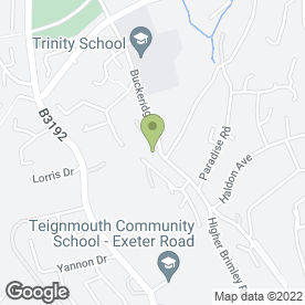 Map of Teignmouth Flooring in Teignmouth, devon