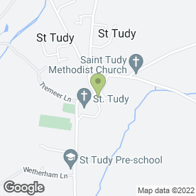 Map of Phil Tizzard Kitchens in St. Tudy, Bodmin, cornwall