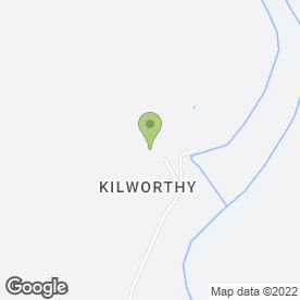 Map of Chelfham Senior School in Kilworthy, Tavistock, devon