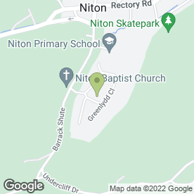 Map of AJW Accounting in Niton, Ventnor, isle of wight