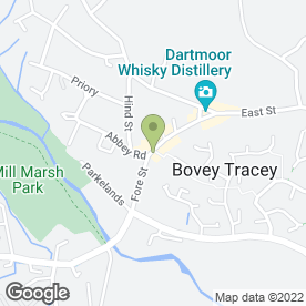 Map of Tesco Express in Bovey Tracey, Newton Abbot, devon