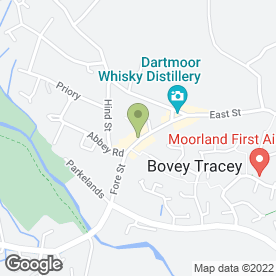 Map of Cromwell Arms in Bovey Tracey, Newton Abbot, devon