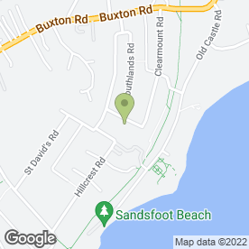 Map of Beacon Foundation Systems in Weymouth, dorset