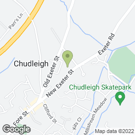 Map of A.J.G Removals in Chudleigh, Newton Abbot, devon
