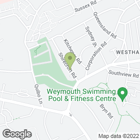 Map of A Balance for Nature in Westham, Weymouth, dorset