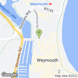 Map of Wessex Conveyancing Limited in Weymouth, dorset