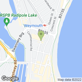 Map of C&S Locksmiths Limited in Weymouth, dorset
