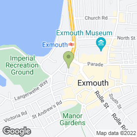Map of SM Homemade in Exmouth, devon