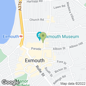 Map of Fancyflours Cakes in Exmouth, devon