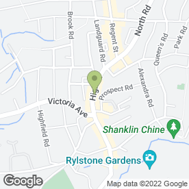 Map of Fins & Tails in Shanklin, isle of wight
